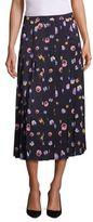 Christopher Kane Ditsy Pleated Skirt