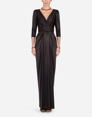 Dolce & Gabbana Long Silk Dress