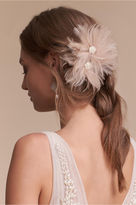 BHLDN Blushing Plumes Clip