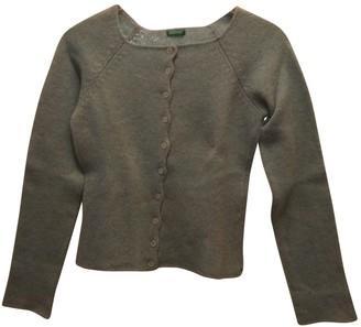 Benetton Turquoise Wool Knitwear
