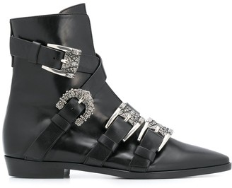 Etro Buckled Ankle Boots
