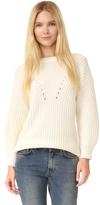 TSE Claudia Schiffer x Heavy Shaker Sweater