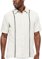 HAVANERA The Havanera Co. Short-Sleeve Pickstitch Panel Shirt