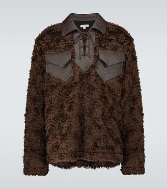 Phipps Elf shearling sweatshirt