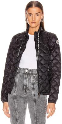 Moncler Lan Giubbotto Jacket in Black | FWRD