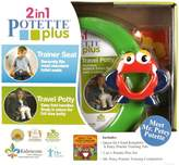 Kalencom Mr. Petey 2-in-1 Potette Potty Training Kit - Includes Trainer Seat, Travel Potty, Story Book and Mr. Petey Companion - Easy to Use - For 15+ Months