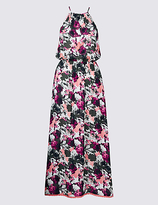 M&S Collection Floral Beaded Midi Dress