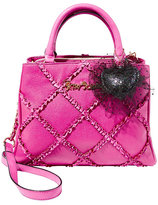 Betsey Johnson Cross Your Heart Satchel