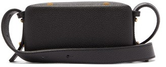 Lutz Morris Erwin Small Grained-leather Cross-body Bag - Black