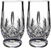 Waterford Crystal Lismore Footed Tumblers, Set of 2