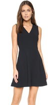 Vince V Neck Sleeveless Dress