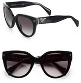 Prada Round Cat's-Eye Acetate Sunglasses
