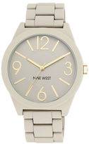 Nine West Ladies Quartz Matte Beige Bracelet Watch