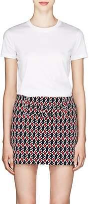 Prada Women's Cotton Jersey T-Shirt Set - White