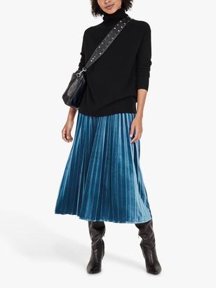 Hush Thea Velour Maxi Skirt
