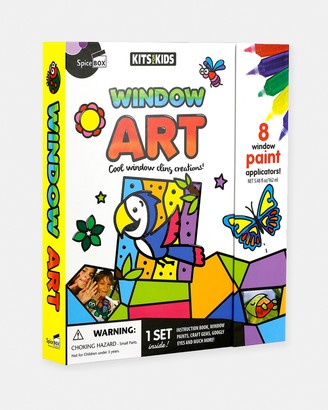 SpiceBox - White Activity Kits - Window Art Kit - Teens - Size One Size at The Iconic