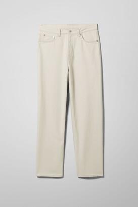 Weekday Galaxy Denim Trousers - Grey