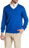 Peter Millar Long Sleeve V-Neck Sweater