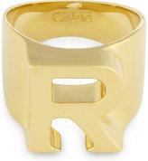 Chloé Alphabet R ring