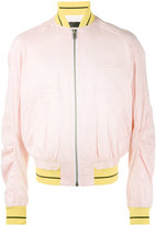 Haider Ackermann bomber jacket - men - Linen/Flax/Nylon/Spandex/Elastane/Rayon - S