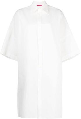 Y's Linen Shirt Dress