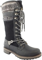 Bos. & Co. Black Caird Wool-Lined Waterproof Leather Snow Boot