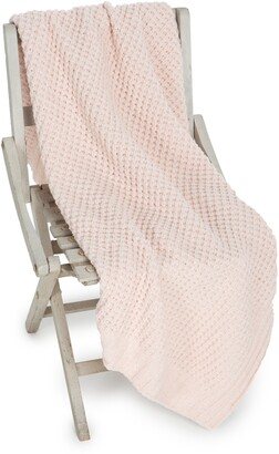Barefoot Dreams Waffle Knit Baby Blanket