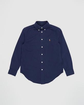 Polo Ralph Lauren Long Sleeve Linen-Lyocell Shirt - Teens