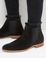 Zign Suede Chelsea Boots