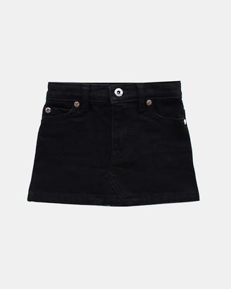 LTL PPL - Girl's Black Denim skirts - Denim Skirt - Size One Size, 5 at The Iconic