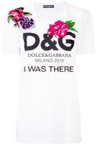 Dolce & Gabbana floral embellished T-shirt