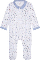Petit Bateau Boat and star-print cotton baby-grow 12-24 months