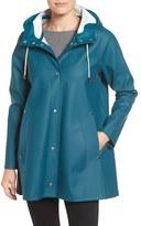 Stutterheim Women's Mosebacke Waterproof A-Line Raincoat