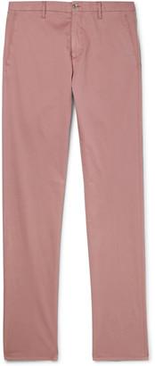 Zanella Noah Slim-Fit Garment-Dyed Cotton-Blend Chinos