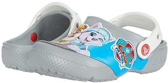 Crocs Fun Lab Paw Patrol Clog (Toddler/Little Kid) (Light Grey) Kid's Shoes