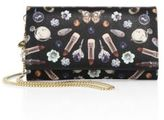 Alexander McQueen Printed Leather Chain Wallet