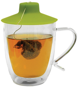 Primula Double Wall Mug with Tea Buddy
