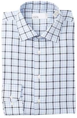 Nordstrom Rack Trim Fit Large Check Dress Shirt