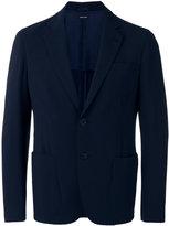 Giorgio Armani two button blazer - men - Polyester/Spandex/Elastane/Cupro/Virgin Wool - 52