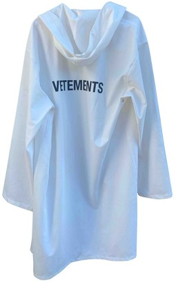 Vetements White Synthetic Coats