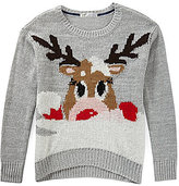 Thumbnail for your product : Jolt Reindeer Critter Sweater
