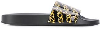 Versace Logo Print Slides