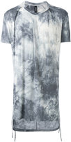Tom Rebl gradient printed long T-shirt - men - Spandex/Elastane/Viscose - S