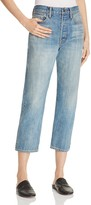 Vince Union Slouch Jeans in Mid Wash Blue