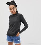 Urban Bliss ruffle hem sweater