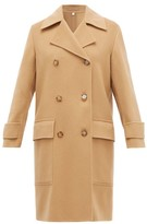 Burberry Earsdon Double-breasted Cashmere Coat - Womens - Camel