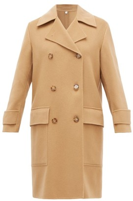 Burberry Earsdon Double-breasted Cashmere Coat - Camel