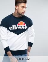 Ellesse Chevron Sweatshirt With Classic Logo