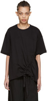 Marques Almeida Black Side Cord T-shirt