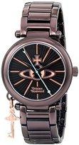 Vivienne Westwood Women's VV006KBR Kensington II Analog Display Swiss Quartz Brown Watch